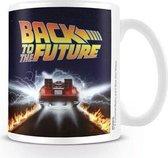 Back To The Future - Mug - 300 ml - Delorean