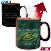 LORD OF THE RING - Mug Heat Change - 460 ml - Sauron - box x2