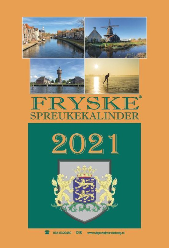 Fryske spreukekalinder 2021 - Hendrik van den Heuvel  