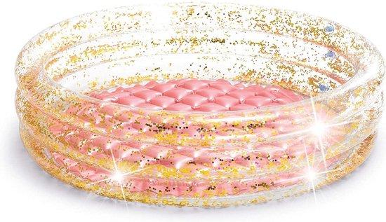 Intex Zwembad - roze/goud