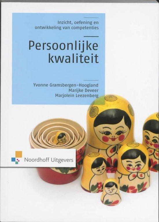 Persoonlijke kwaliteit - Drs. Y.H. Gramsbergen-Hoogland |