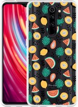 Xiaomi Redmi Note 8 Pro Hoesje Tropical Fruit