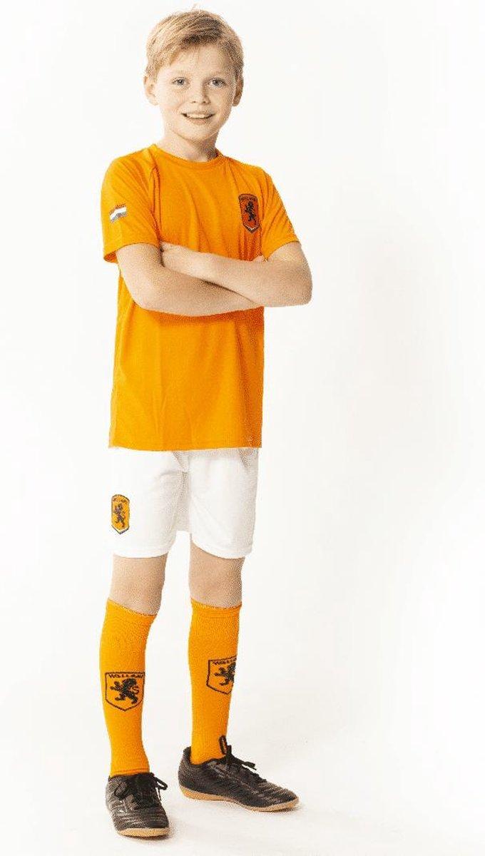 Oranje jongens voetbaltenue