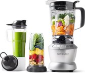 NutriBullet Combo - 11-delig - 1200 Watt - Power Blender - Grijs