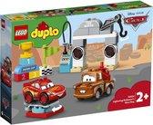 LEGO DUPLO Cars Bliksem McQueen's Racedag - 10924