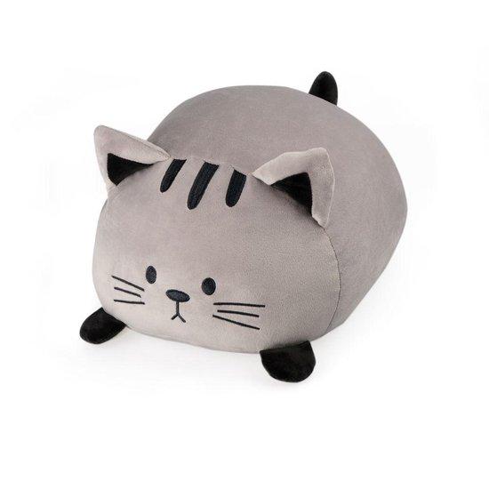Balvi kussen kat Kitty grijs