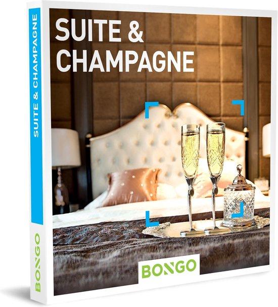 Bongo Bon Nederland - Suite & Champagne Cadeaubon - Cadeaukaart cadeau voor koppels   41 luxueuze hotels