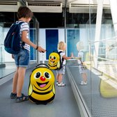 relaxdays kinderkoffer met rugzak - rugtas kind - hard case koffer - reiskoffer kinderen bij