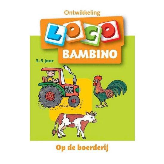 Boek cover Bambino Loco Op de boerderij 3-5 jaar van Diverse auteurs (Paperback)
