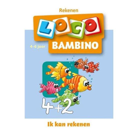 Bambino Loco 4-6 jaar Ik kan rekenen - Schrijver  