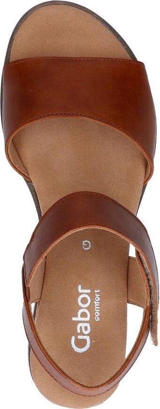 Gabor Comfort Cognac Sandalen Dames 37,5 6wZhlB