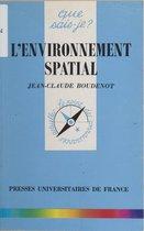 L'environnement spatial