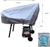 COVER UP HOC Diamond Smoker bbq hoes waterdicht-117x73x46 cm - met Stormbanden en Trekkoord
