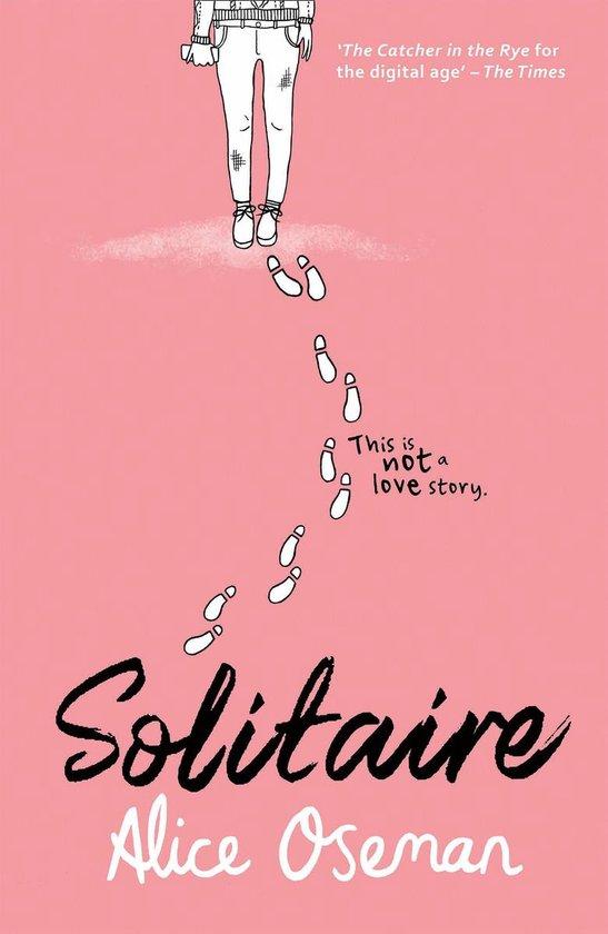 Boek cover Solitaire van Alice Oseman (Onbekend)