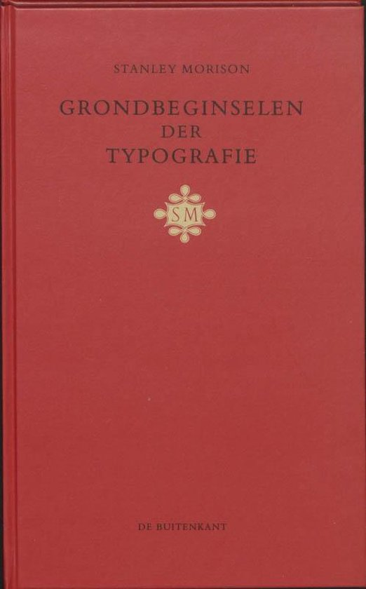 Grondbeginselen der typografie - S. Morison | Readingchampions.org.uk