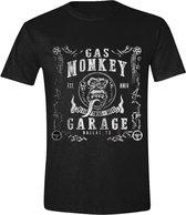 Gas Monkey Garage - GMG Vintage Men T-Shirt - Black - S