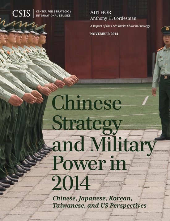 Boek cover Chinese Strategy and Military Power in 2014 van Anthony H. Cordesman (Onbekend)