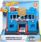 Hot Wheels Ontsnapping uit het Politiebureau