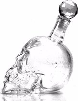 Crystal Skull Karaf Doodshoofd - 1L - Voor likeur