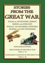 Omslag TRUE STORIES from the GREAT WAR - Soldiers Stories and Observations during WWI