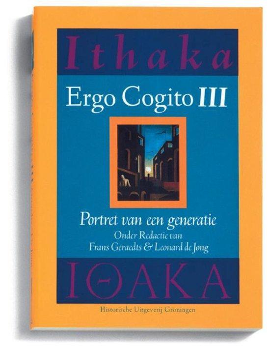 Ergo Cogito 3 - Portret van een generatie - F. Geraedts  