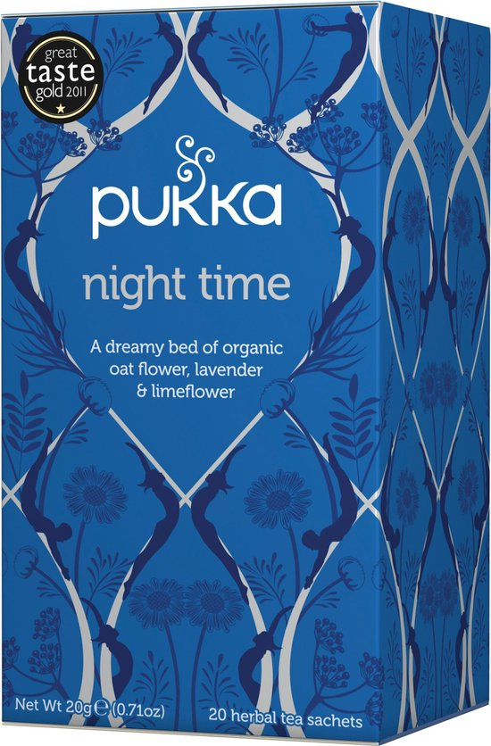 Pukka Night Time Thee - 4 x 20 zakjes