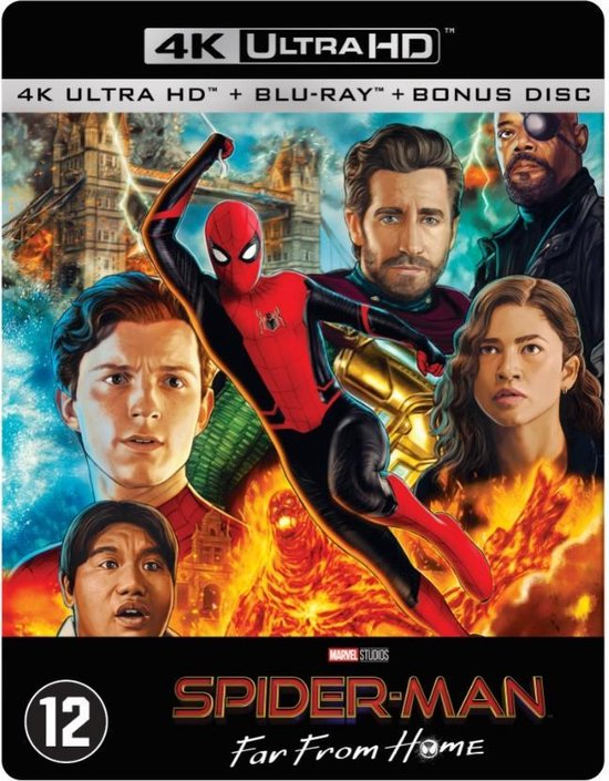 Spider-Man: Far From Home (Steelbook) (4K Ultra HD Blu-ray)