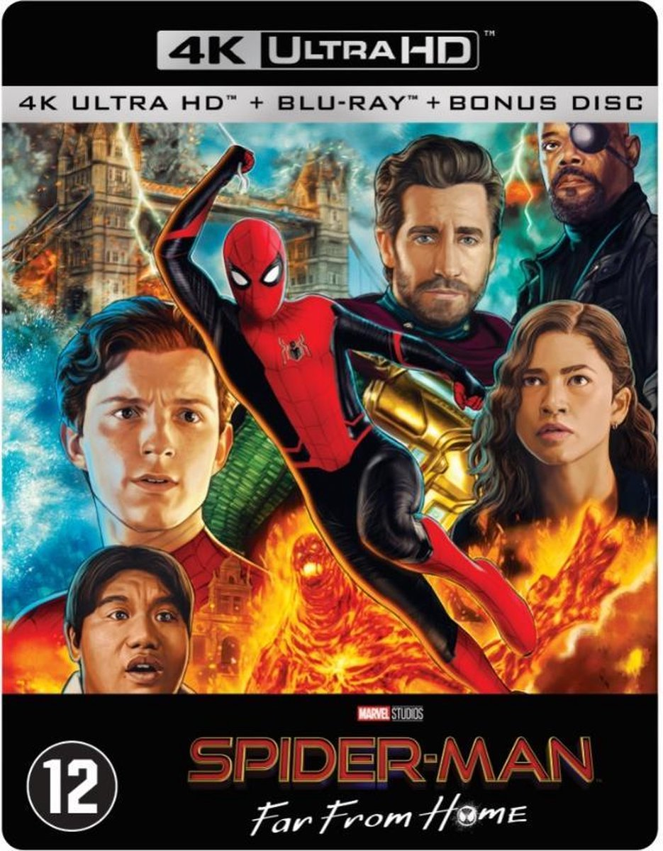 Spider-Man: Far From Home (Steelbook) (4K Ultra HD Blu-ray)-