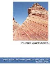 The Critical Record 1763-1765