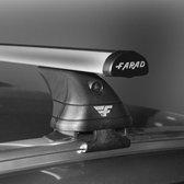 Dakdragers Bmw X1 (F48) SUV vanaf 2015 - Farad aluminium