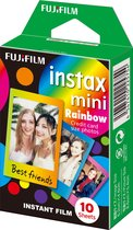 Fujifilm Instax Mini Colorfilm - Rainbow - 10 stuks