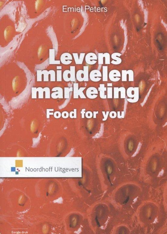 Levensmiddelen marketing - Emiel Peters  