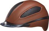 Paso L brown matt KED  cap met hoofdomtrek: 57-62 cm