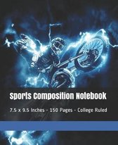 Sports Composition Notebook