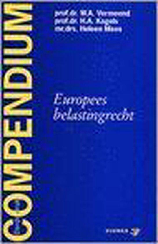 Compendium van het Europees belastingrecht