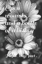 Open wounds and a bottle of whiskey