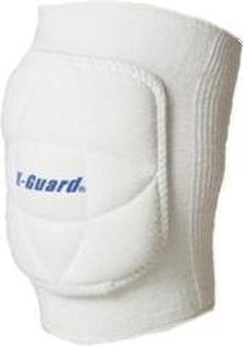 K-guard Champ Kniebeschermer Volleybal Unisex Wit Maat M