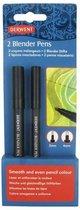 Derwent Blender Pens - Set van 2 - Maten 2 & 4mm