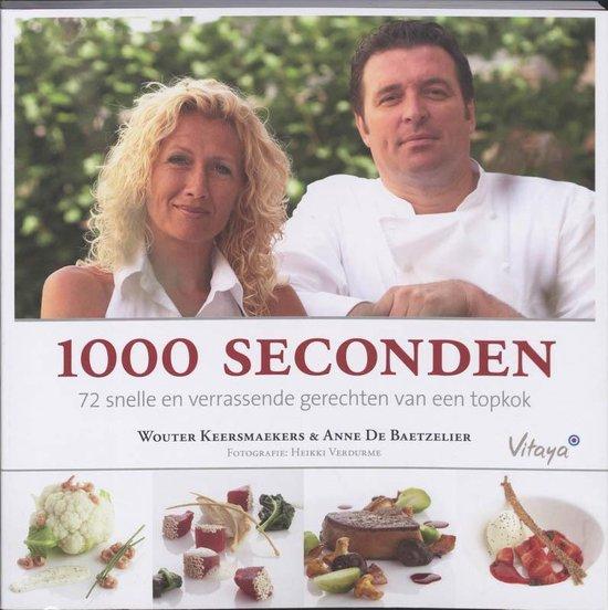 Cover van het boek '1000 seconden' van A. de Baetzelier en Wouter Keersmaekers