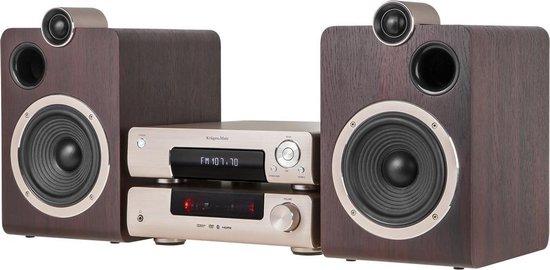 Krüger & Matz KM1908 - DVD Micro systeem met DAB+ radio,USB en Bluetooth