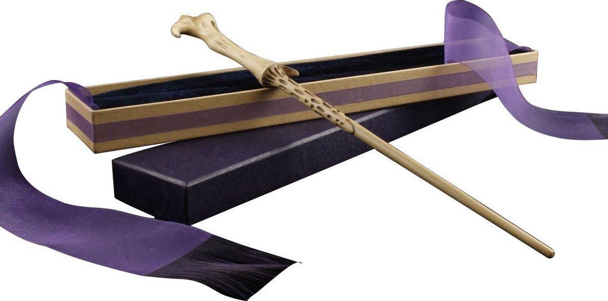 Extra gedetaileerde Lord Voldemort toverstaf in Ollivanders Box |Metal Core|Fluweel|Harry Potter serie Toverstok - Merkloos