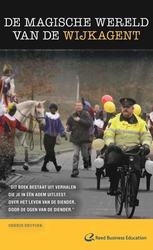 Cover van het boek 'De magische wereld van de wijkagent' van B. Beuvink