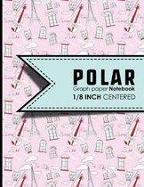 Polar Graph Paper Notebook