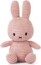 "nijntje Corduroy knuffel roze - 23 cm - 9"""