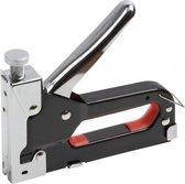 Benson Tacker Nietmachine 4-12mm | Inclusief 200 nieten | Staal + Chroom | Verstelbare Veren Kracht