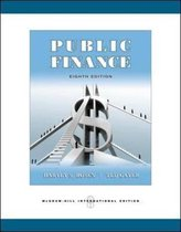 Boek cover Public Finance van Harvey S. Rosen (Paperback)