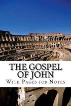 Boek cover The Gospel of John with Pages for Notes van David H Troyer