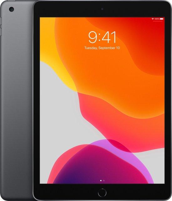 Apple iPad (2019) - 10.2 inch - WiFi - 128GB - Spacegrijs