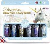 Paintglow Box Unicorn Chunky Glitters Face & Body Gel