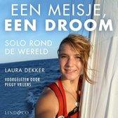 Boek cover Een meisje, een droom van Laura Dekker (Onbekend)
